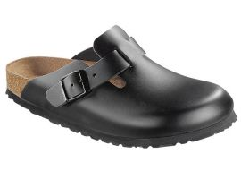 060193 BOSTON BLACK SMOOTH LEATHER