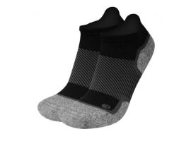WELLNESS PERFORMANCE NO SHOW SOCKS BLACK